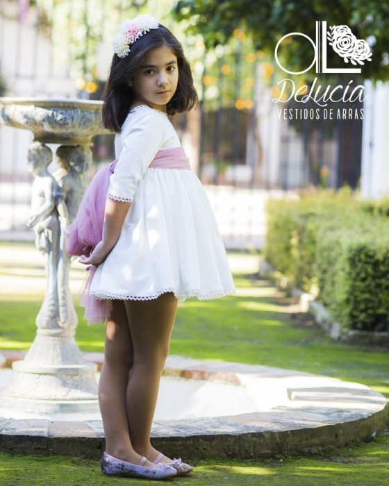 Dress Peonía (7 to 10 years)