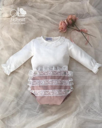 Diaper cover and blouse Nicolette