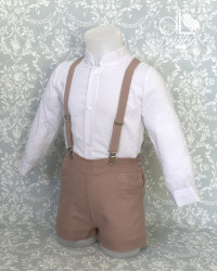 Set child with suspenders Dolce Vita